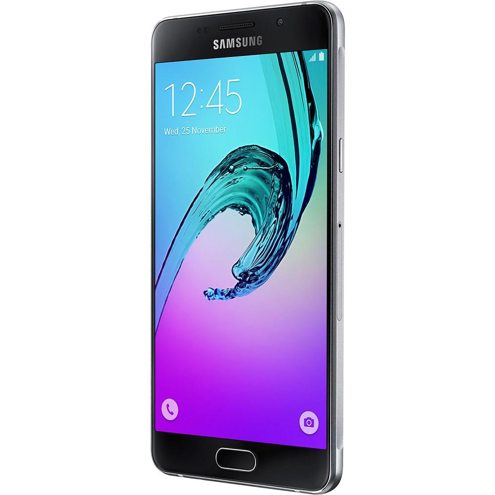 Smartphone Galaxy A7 A710M/DS, Octa Core 1.6Ghz, Android 5.1, Tela 5.5 Super Amoled, 16GB, 5MP+13MP, 4G, Preto - Samsung