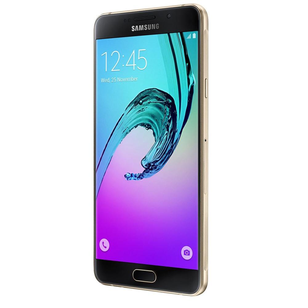 Smartphone Galaxy A7 A710M/DS, Octa Core 1.6Ghz, Android 5.1, Tela 5.5 Super Amoled, 16GB, 5MP+13MP, 4G, Dourado - Samsung