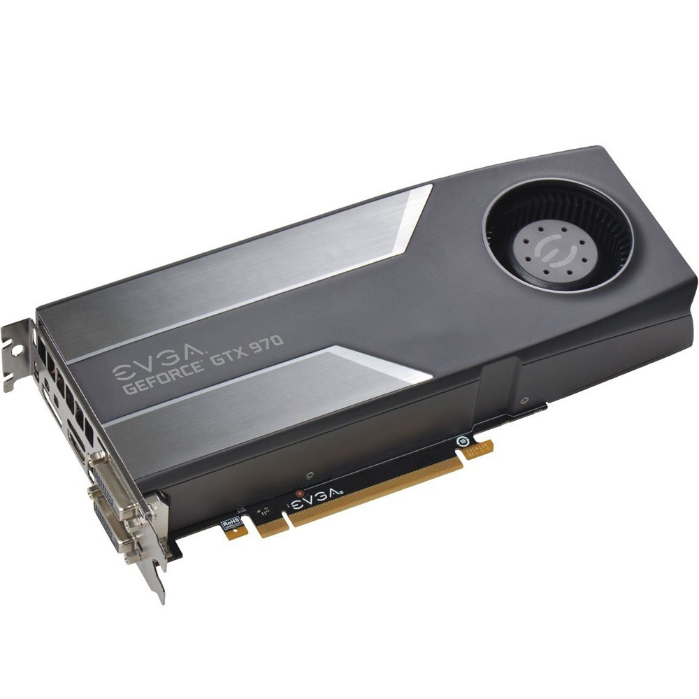 Placa de Vídeo Geforce GTX970 4GB DDR5 256Bits 04G-P4-1970-KT - EVGA
