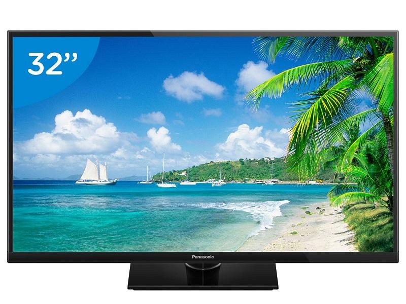 TV 32 LED HD TC-32A400B 2 HDMI, 1 USB, Media Player, Backlight Blinking, Painel IPS - Panasonic