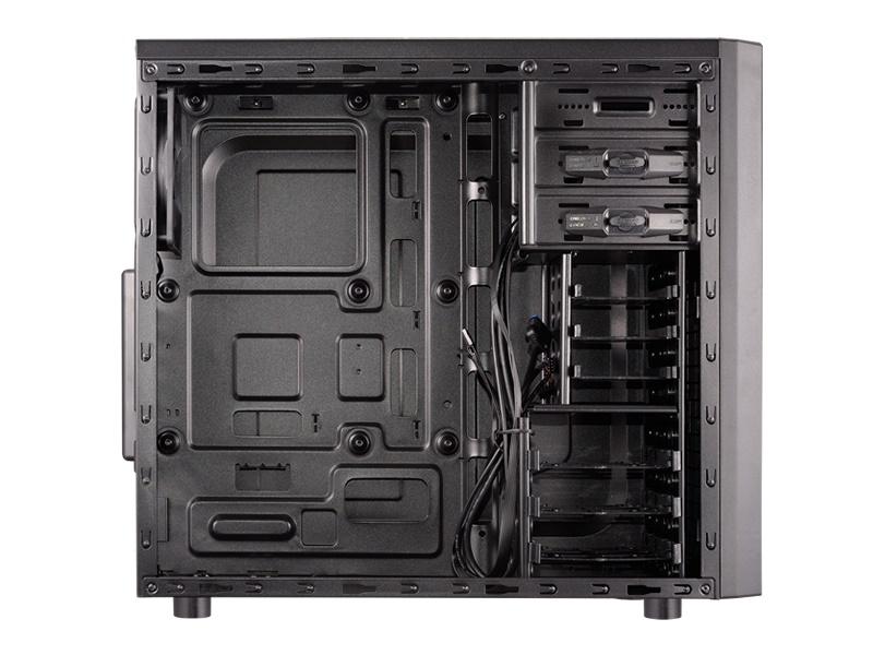 Gabinete Solution 2 Black Window 5MMG - Cougar