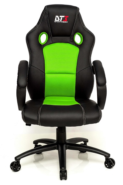 Cadeira Gamer GT Black Green 10296-8 - DT3 Sports