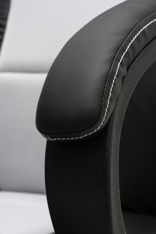 Cadeira Gamer GT Black White 10298-0 - DT3 Sports