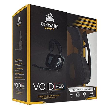 Fone de Ouvido VOID RGB DOLBY 7.1 USB Carbon CA-9011130-AP - Corsair