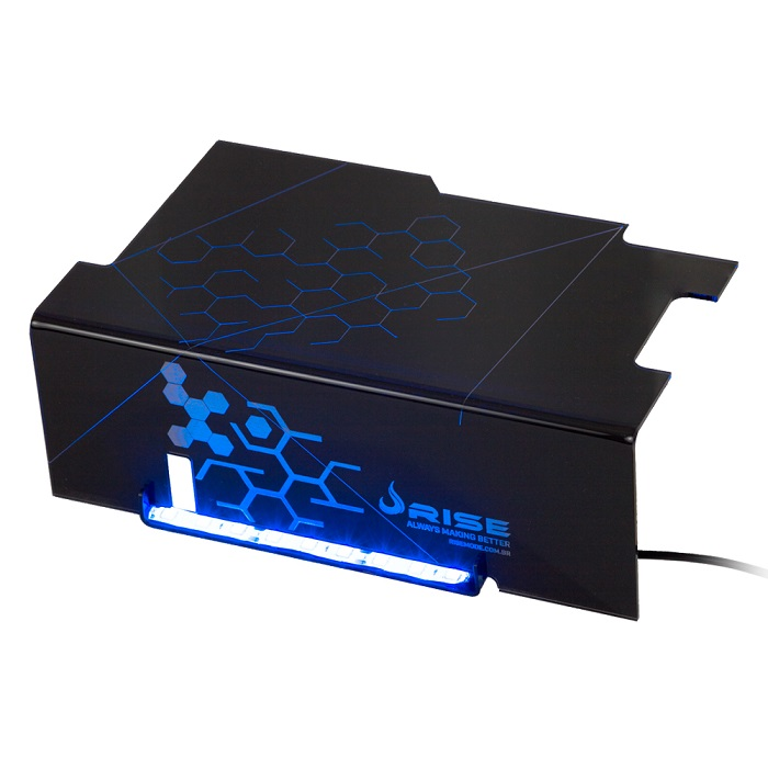 Cover PSU Ice Cold (LED Azul) RM-CP-01-IC - Rise Mode
