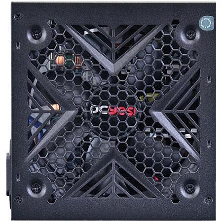 Fonte ATX 500W Shocker Series 80 Plus White (PFC Ativo) 24417 - Pcyes