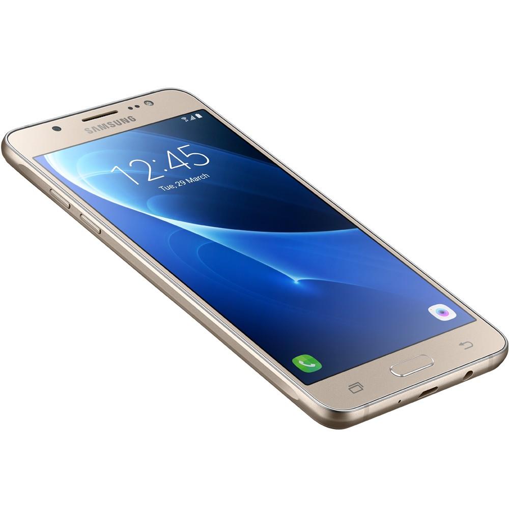 Smartphone Galaxy J5 Metal SM-J510MN/DS, Quad Core 1.2Ghz, Android 6.0, Tela 5.2, 16GB, 13MP, 4G, Dual Chip, Dourado - Samsung