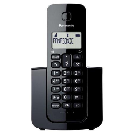 Telefone Sem Fio Preto, com ID de chamadas TGB110LBB - Panasonic