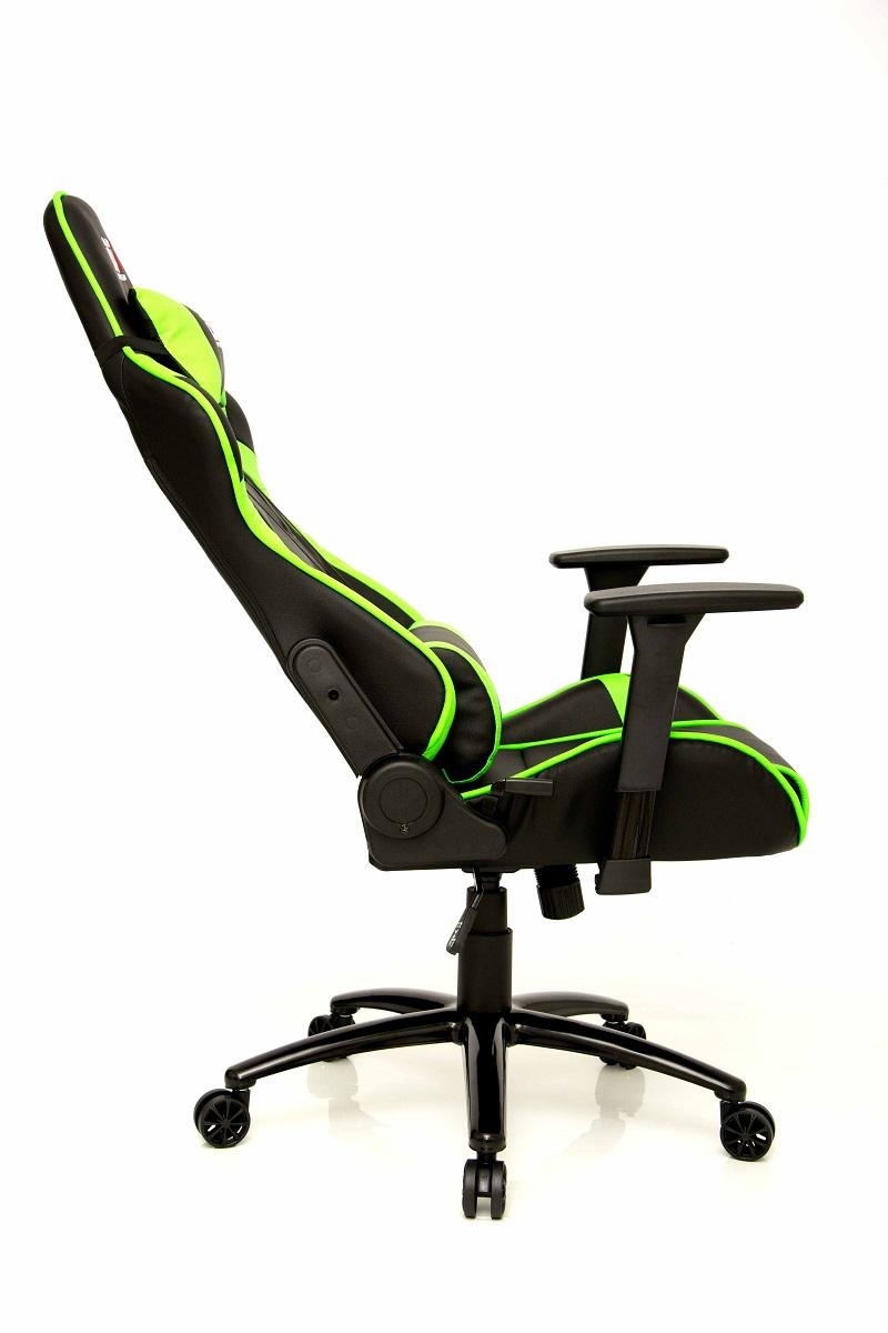 Cadeira Mizano Black Green 10498-2 - DT3 Sports