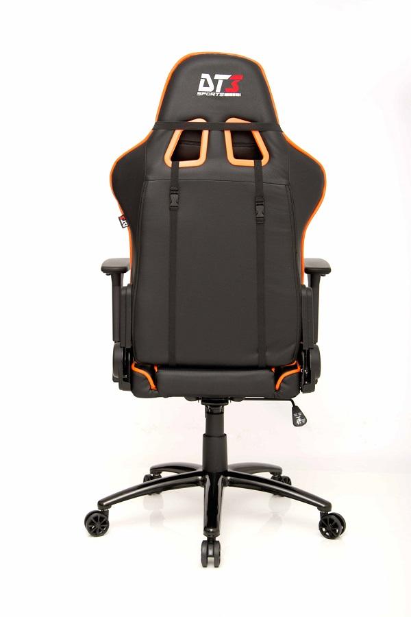 Cadeira Mizano Black Orange 10499-3 - DT3 Sports