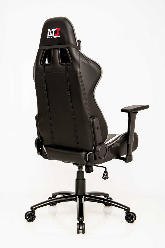 Cadeira Modena Black Grey 10326-2 - DT3 Sports