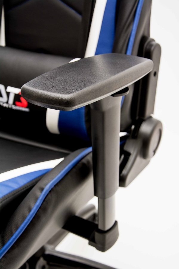 Cadeira Modena Black Blue 10501-7 - DT3 Sports