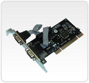 Placa Multiserial F1121W com 2 Seriais RS232 Conexao DB9 PCI - FlexPort