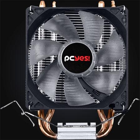 Cooler para Processador Zero K Z2 92mm LED Vermelho ACZK292LDV - Pcyes