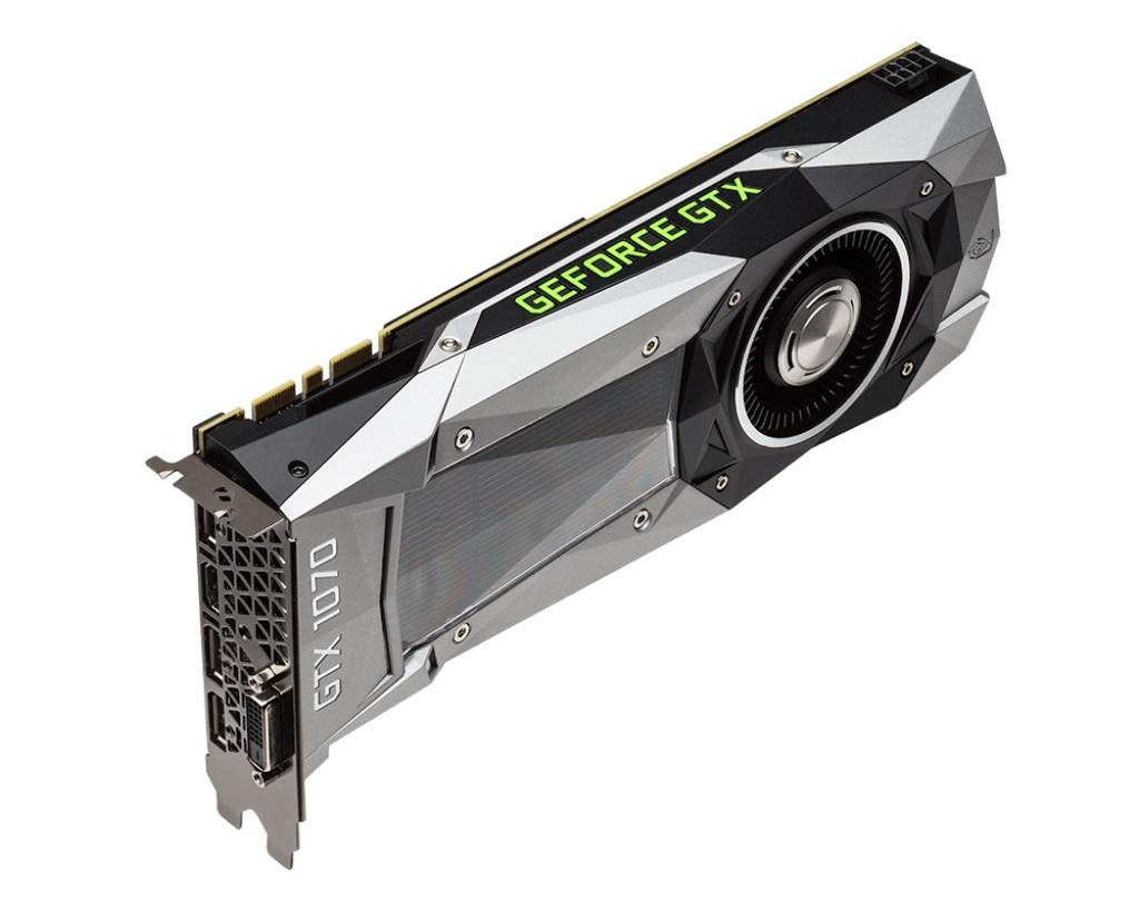 Placa de Vídeo Geforce GTX 1070 Founders Edition 8GB DDR5 - MSI