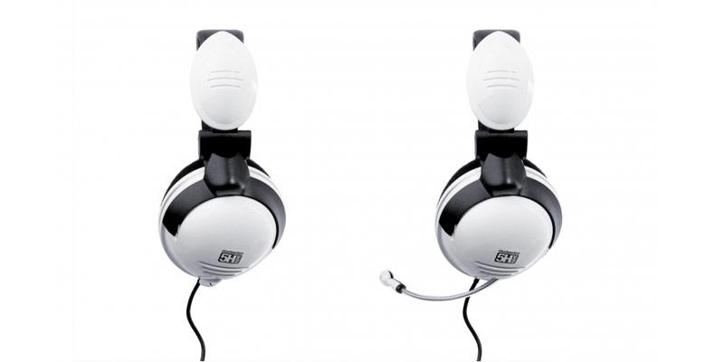 Fone de Ouvido 5HV/2 White c/ Microfone 61009 - Steelseries