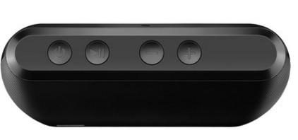 Caixa de Som Speaker Preta, 20W, Bluetooth, Entrada USB e Cartão Memória SP216 - Pulse