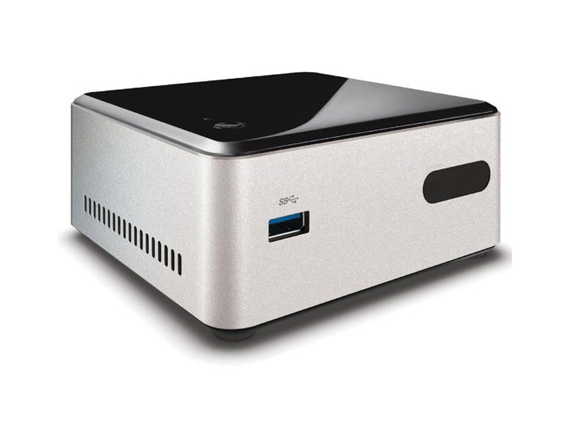 Desktop NUC Intel CN28304120 Dual Core N2830 4GB 120GB SSD, HDMI, USB, Rede Linux - ULTRATOP