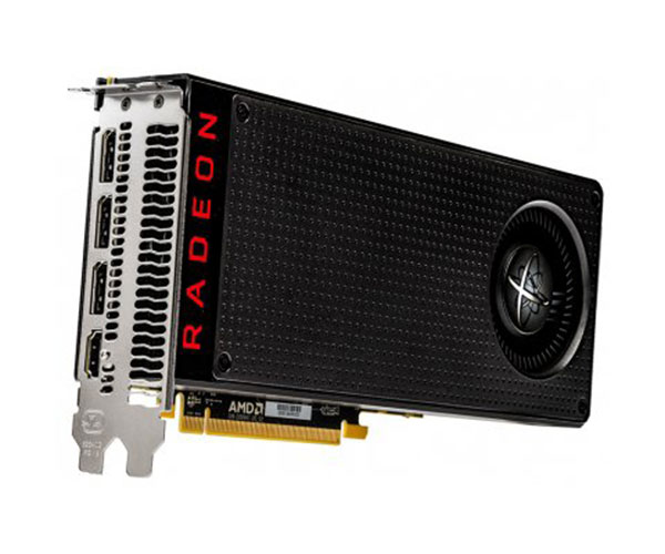 Placa de Vídeo Radeon RX 480 8GBG Black OC DDR5 1328Mhz RX-480M8BBA6 - XFX