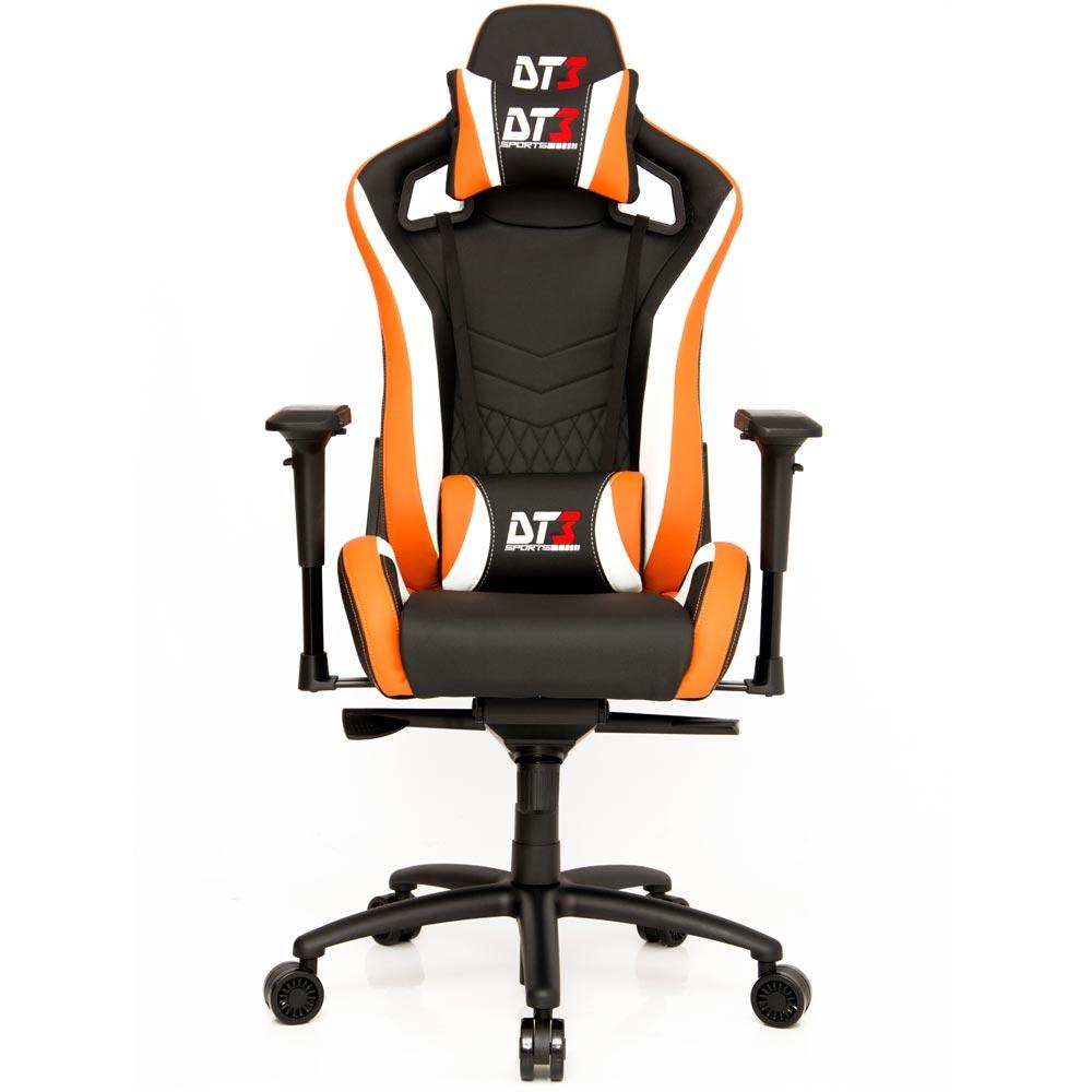Cadeira Onix Black Orange White 10370-1 - DT3 Sports