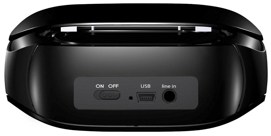Caixa de Som Bluetooth Mini Boombox (984-000204) - Logitech
