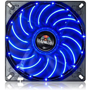 Cooler T.B. Apollish com LED Azul 14CM UCTA14N-BL - Enermax
