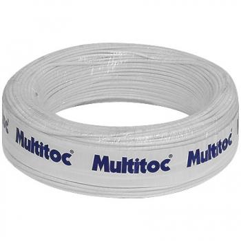 Cabo de Alarme CA 50x40 4 Vias MUCA0811 100 Metros - Multitoc