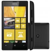 Smartphone Lumia 520 - Windows Phone 8, Camera 5MP, Dual Core 1GHz, 8GB, Wi-Fi, 3G (Desbloqueado) Preto