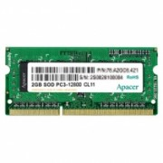 Memoria de Notebook 2GB DDR3 1333Mhz 78.A2GC9.9K00C - Apacer