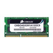 Memoria de Notebook 4GB CL9 1333Mhz DDR3 CMSO4GX3M1A1333C9 - Corsair