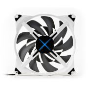 Cooler ZM-DF14 140mm Premium Impulsor com Lâmina Dupla (LED Central) - Zalman