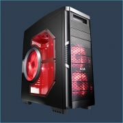 Gabinete Full Tower Solano 1000 Preto 10084-3 - AZZA
