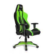 Cadeira AKRacing Premium V2 Black Green 10215-9 - AKRacing