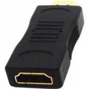Smart ST-HDMI-MF Adaptador HDMI M X HDMI F Dourado - Smart