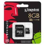 Cartão de Memória Micro SD 8GB KC-C308G-4V1 Classe 10 - Kingston