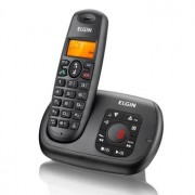 Telefone Sem Fio c/ Secretaria Eletronica Preto TSF700SE - Elgin