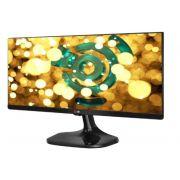 Monitor 25 Led FHD Ultrawide 25UM58-P 2xHDMI Preto - LG