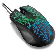 Mouse Fusion Gamer Led 1000 dpi USB MO227 - Multilaser