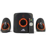 Caixa de Som USB/SD/FM/Bluetooth 42W SM-CS3313B - Sumay