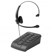 Telefone Headset HSB50 Emborrachado Com Fone - Intelbras