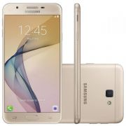 Smartphone Galaxy J7 Prime G610M/DS Octa Core 1.6Ghz, Android 6.0.1, 13MP, 32GB, Tela 5.5 Leitor Digital, Dual Chip, Dourado - Samsung