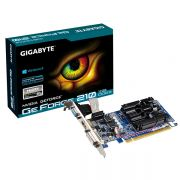 Placa de Vídeo Geforce GT210 1GB DDR3 64Bits GV-N210D3-1GI Rev 6.0 - Gigabyte