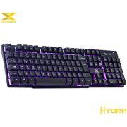 Teclado VX Gaming Hydra Multimídia com Backlight 3 Cores 25370 - Vinik