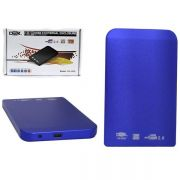 Case USB 2.0 Azul 2,5 DX-2520 CS0030 - Dex