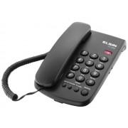 Telefone de Mesa Com Fio Preto TCF-2000 (42TCF2000000) - Elgin