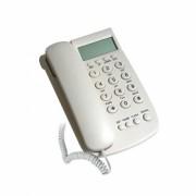 Telefone com Identificador de Chamadas Company ID Branco c/ Chave de Bloqueio e Funcoes Flash/Mute - Multitoc