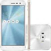 Smartphone Zenfone 3 ZE520KL-1B075BR Octa Core, Android 6, Tela 5.2, 32GB, 16MP, 4G, Dual Chip Branc