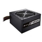 Fonte ATX VS500 80Plus White PFC Ativo 500W CP-9020118-LA - Corsair