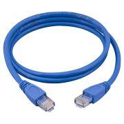 Cabo de Rede Plus Cable PC-ETH6E10001 CAT6 Azul 10 metros - Patch Cord (C/st)