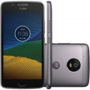 Smartphone Moto G5 XT1672 Octa-Core, Android 7.0, Tela 5, 32GB, 13MP, 4G, Dual Chip, Platinum - Motorola